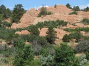 Red rock formations © 2014 Karen A. Johnson