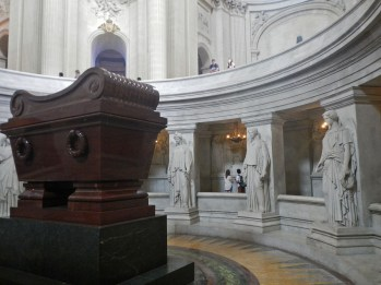Napoleon's tomb 2 © 2014 Karen A. Johnson