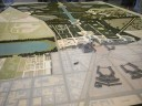 Model of Versailles and gardens © 2014 Karen A. Johnson