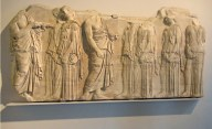 Parthenon sculptures © 2014 Karen A. Johnson