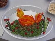Vegetable platter © 2016 Karen A. Johnson