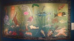 Pastel mural display 2 © 2016 Karen A. Johnson