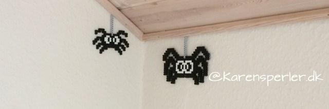 Halloween edderkopper i perler