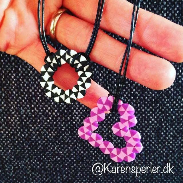Halskæde vedhæng i perler