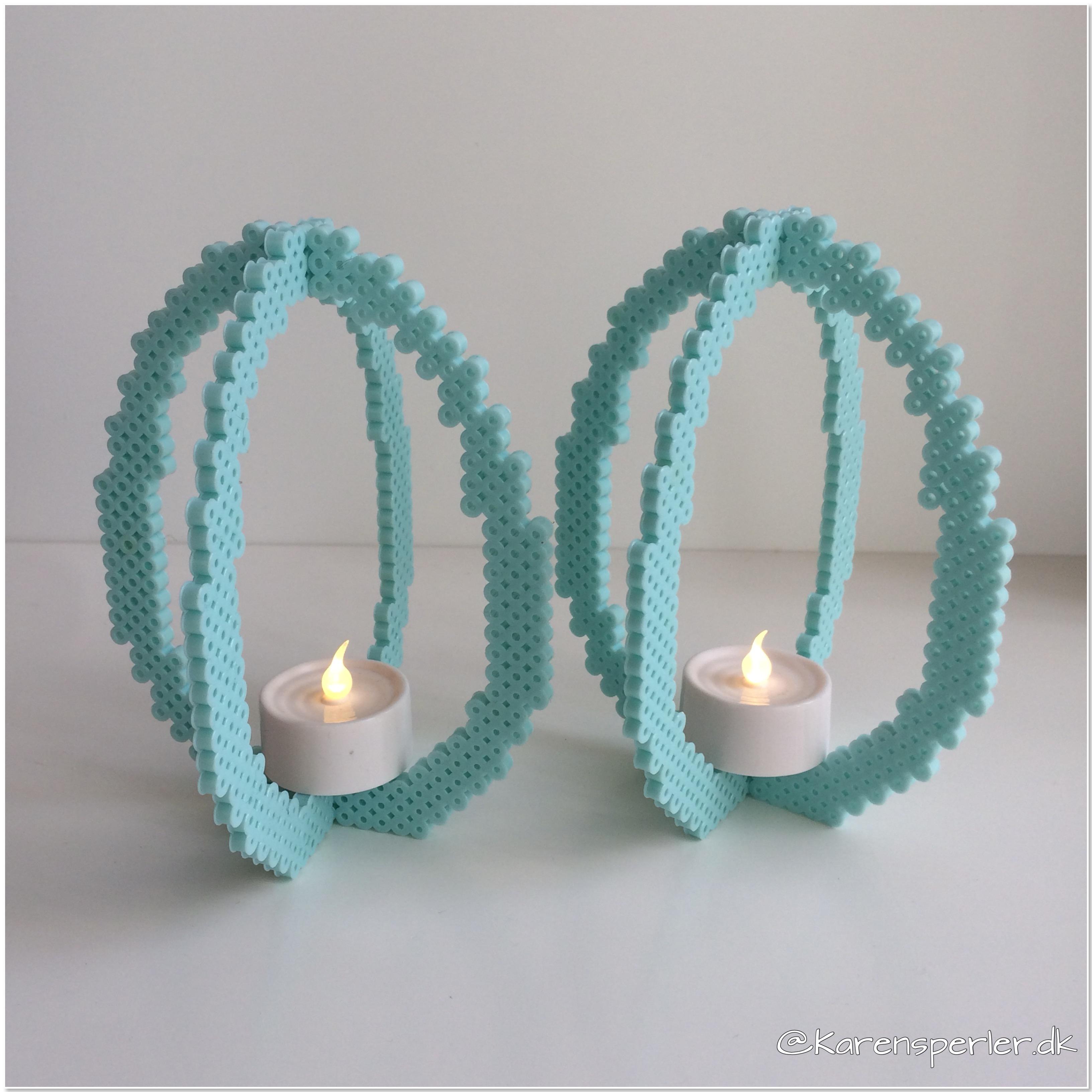 3D påskeæg i perler