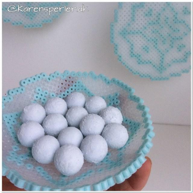 Skål iskrystal perler