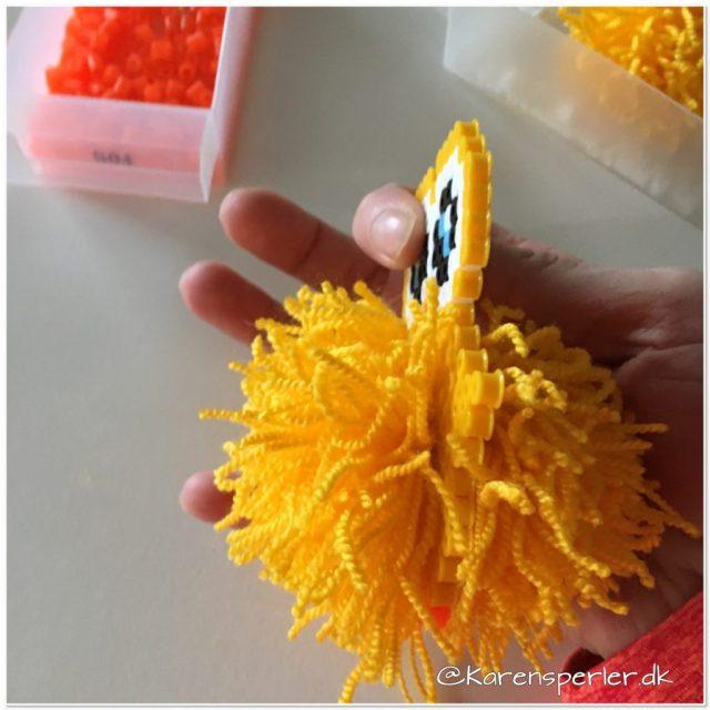 Påske pompom perler