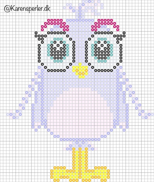 Angry Birds Silver perleplader Artkal