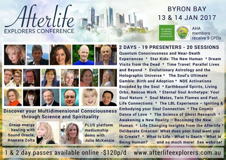 The Afterlife Explorers Conference