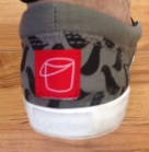 BucketFeet Shoes Label