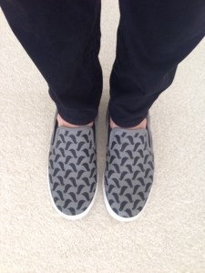BucketFeet Blackbirds Slipons