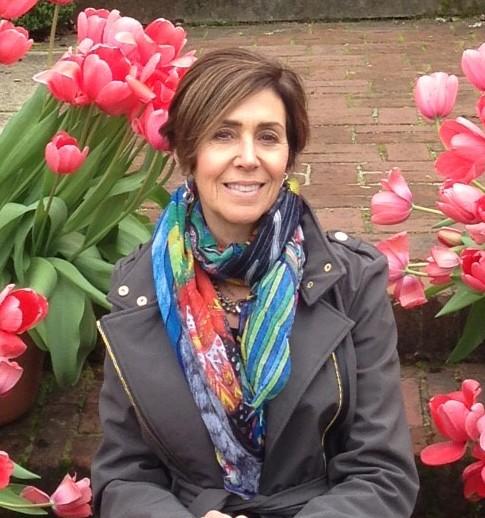 Karen-Spring at Filoli