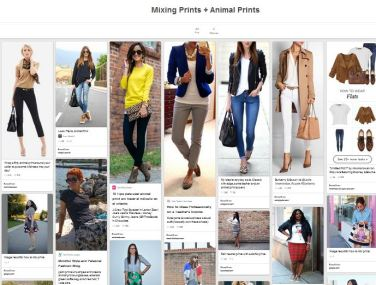 Pinterest Mixing Prints + Animal Prints