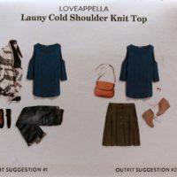 Launy Cold Shoulder Top