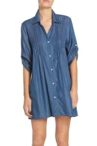 Nordstrom Tommy Bahama Chambray Cover-Up Tunic $98
