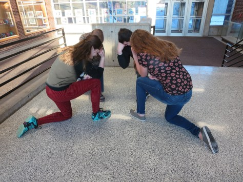 #Tebowing