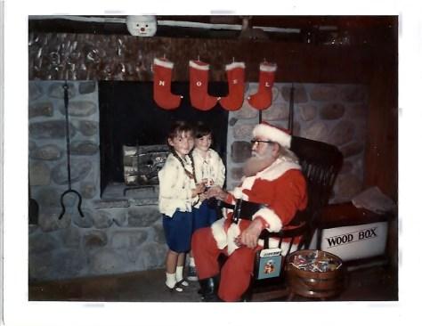 santa claus at the North Pole 001