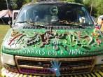 Snakes on a van.