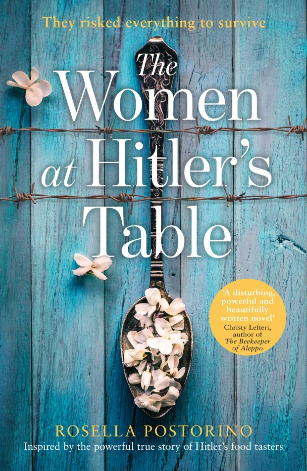 The Woman at Hitler's Table book cover