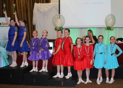 Sinead and Caoimhe 2nd place in their first ever Under12 4dance event ! They are only 8 !