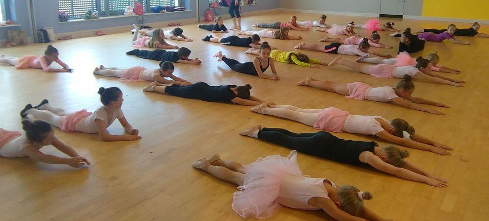 Ballet training !
