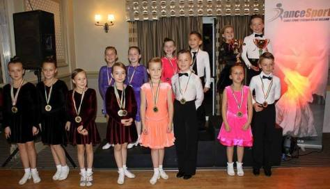 Elliot and Avah - All Ireland Juvenile1 Champions in Ballroom and Latin!