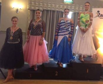 Faustina - Highest National level Girl Champion in Ballroom and Latin!