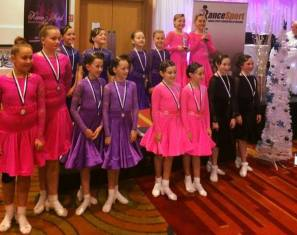 Tara&Katie winning the AllGirls at their 1st competition together ! Sinead&Caoimhe 2nd place !