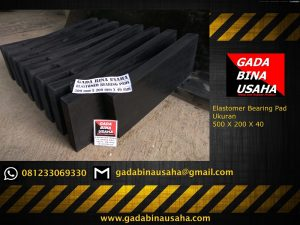 Elastomer Bearing Pad 500 X 200 X 40