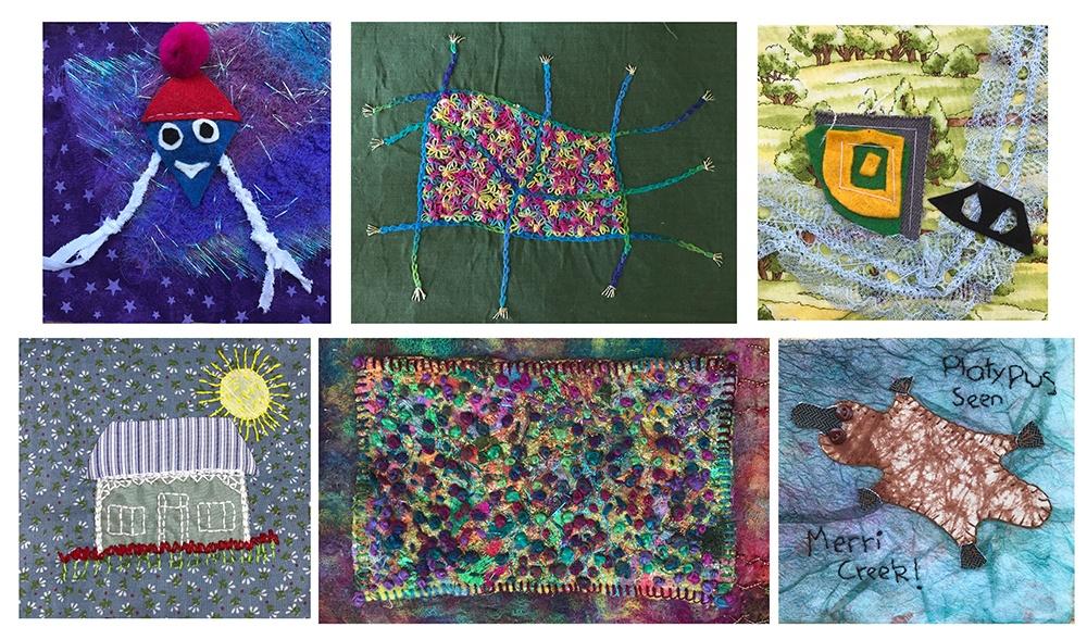 Collage Moreland Quilt Sml