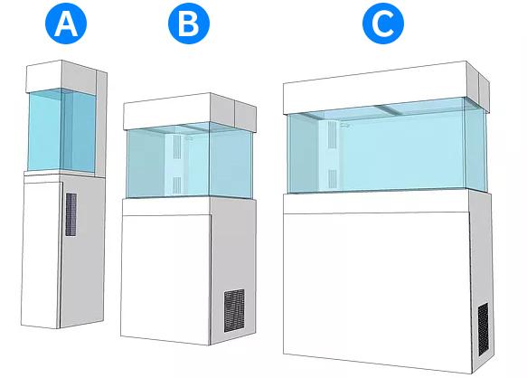 短期レンタル水槽タイプ