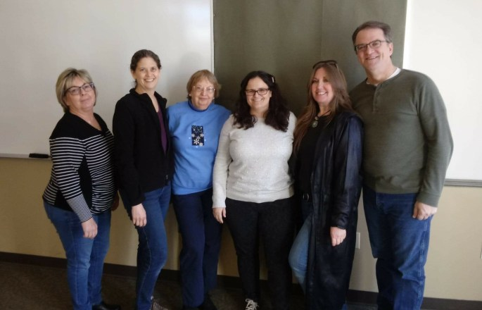 MWA Frederick Chapter officers 2019 maryland writers' association