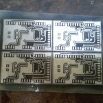 tined pcb back side