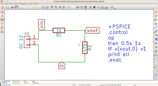 voltage divider schematic with names