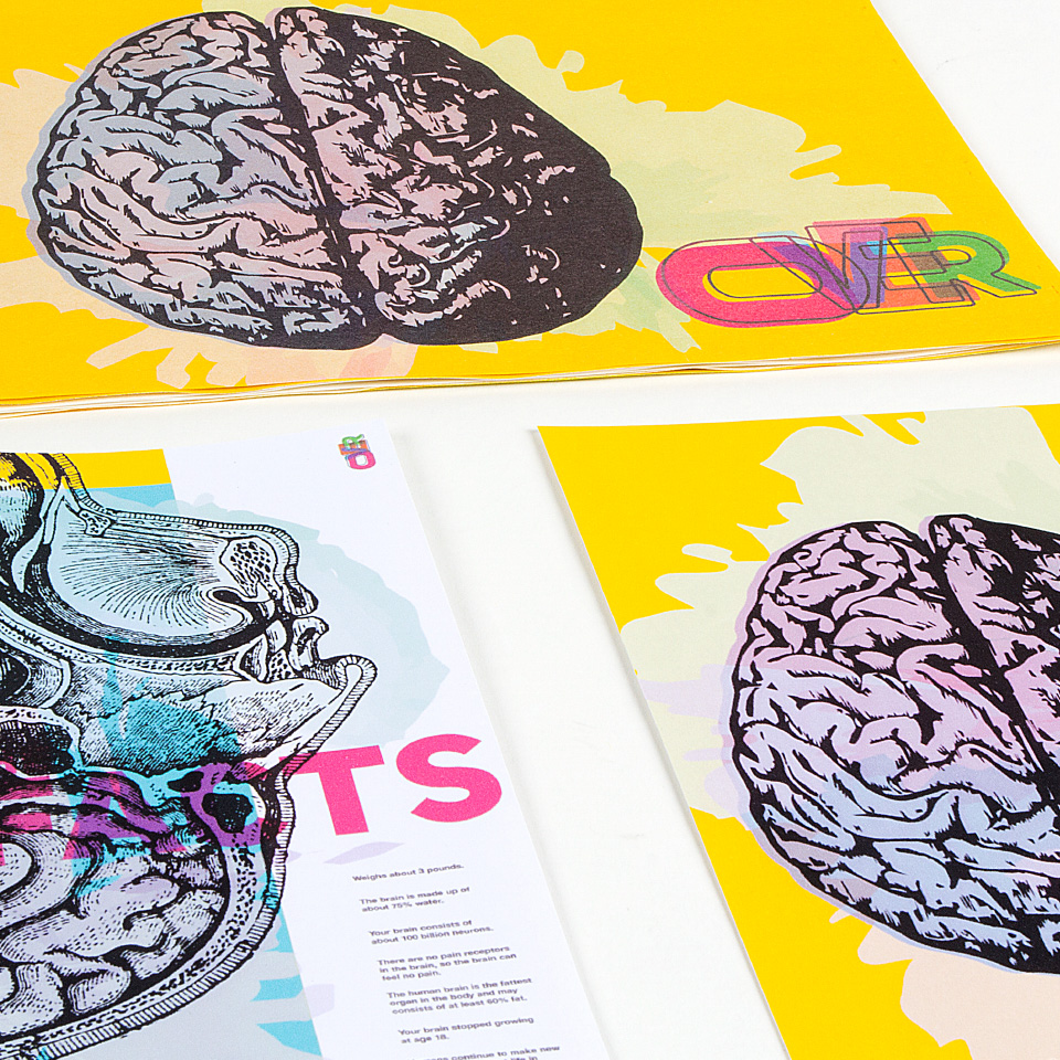 Overprinting Brain