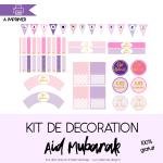 Decoration Aid Mubarak