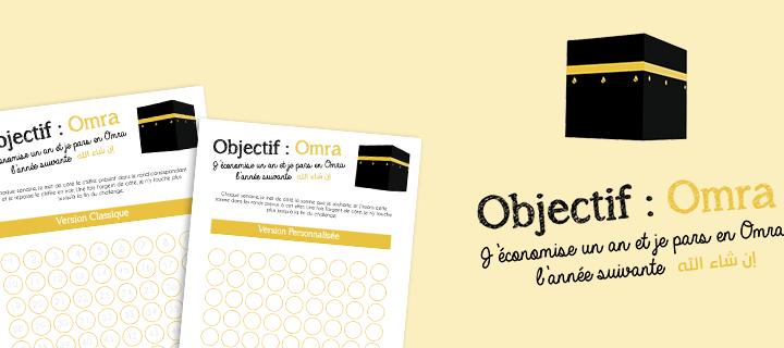 Freebies : Objectif Omra : J'économise pendant un an !