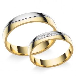 Arany karikagyűrű F4