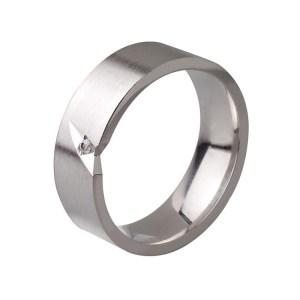 Ezüst eljegyzési gyűrű E19