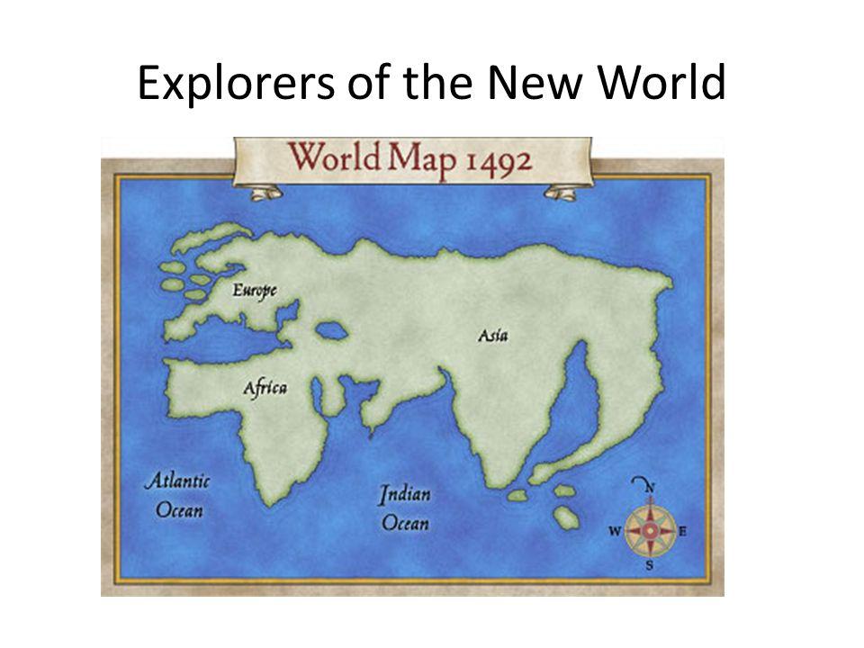 Mapa svijeta po mišljenju istraživača 1492. godine