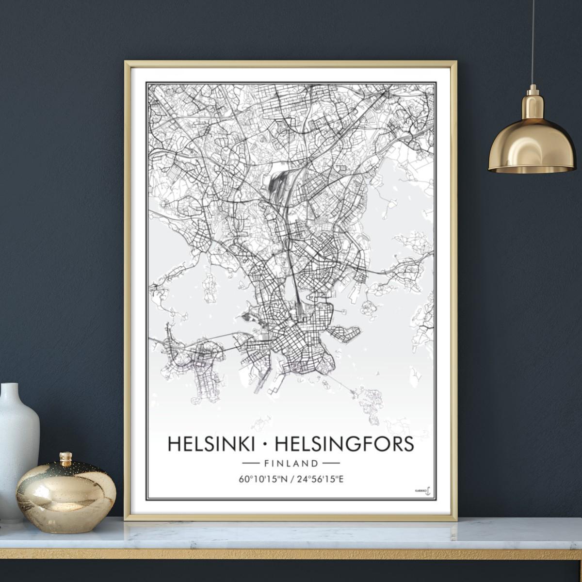 Helsinki Juliste Karikko