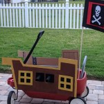 Cardboard Pirate Ship Wagon For Kids Crafting A Fun Life
