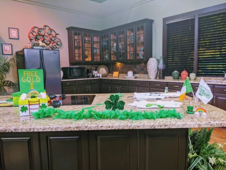 St. Patrick's Day Crafts at the Fox 13 studio