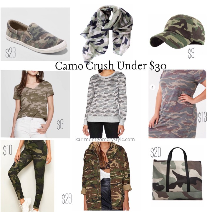 Fall style guide camouflage camo