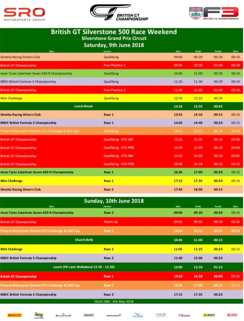 img 0687 - Timetable this weekend