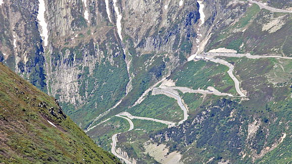 iu 3 - Swissman 1st Big Climb Gotthardpass