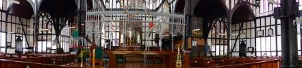 Inside St. George's Cathedral, Georgetown, Guyana -- Karina Noriega