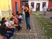 Congratulations are in order for an excellent alfombra Antigua, Guatemala -- Karina Noriega