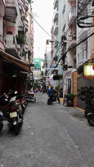 Street outside Kim Hotel I