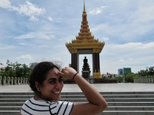 Sight-seeing Cambodian monuments